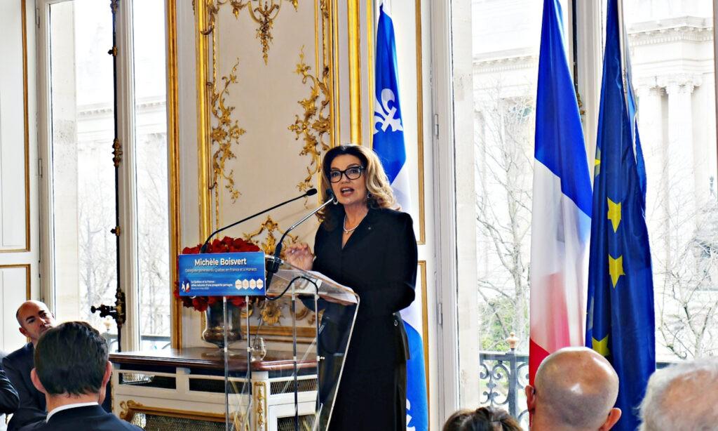 « La délégation, c'est le vaisseau amiral de la diplomatie québécoise »